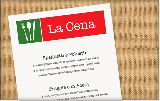 Designimal creative creative web design sacramento web for Menu cenas
